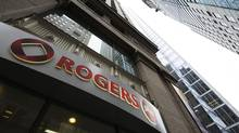 A Rogers Plus store in Toronto. (MARK BLINCH/REUTERS)