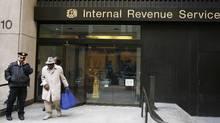 The Internal Revenue Service office in New York. (Lucas Jackson/LUCAS JACKSON/REUTERS)
