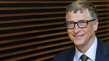 Bill Gates says long-term investment in R&D is necessary to find a climate-change solution. (FRANCOIS LENOIR/Reuters)