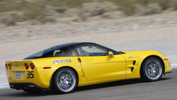 "2012 Chevrolet Corvette ZR1 ""The ZR1's hand-built 638-horsepower 6.2-litre engine is an instant party, and with 22.4 cubic feet of cargo space, there's ample room for a Hibachi grill, cooler and folding chairs."" (General Motors)"