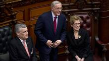 """Ontario Energy Minister Bob Chiarelli says the impact of the cancelled Oakville gas plant on hydro bills is """"minuscule"""" when spread over the 20-year life of electricity contracts and divided among 4.4 million residential customers. (KEVIN VAN PAASSEN/THE GLOBE AND MAIL)"""