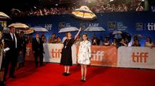 "Actress Natalie Portman arrives on the red carpet for the film ""Planetarium"" during the 41st Toronto International Film Festival (TIFF), in Toronto, Canada, September 10, 2016. (MARK BLINCH/REUTERS)"