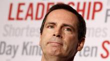 Ontario Premier Dalton McGuinty. (Peter Power/The Globe and Mail)