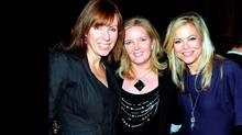 Christine Diakos, Cathy LeDrew and Liz West. (Tom Sandler/Tom Sandler/THE GLOBE AND MAIL)