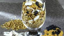 Home-made granola (Tad Seaborn for The Globe and Mail)