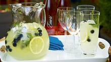 Ginger-infused hard lemonade (Shannon Ross for The Globe and Mail)