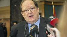 Tom Marshall, shown Jan. 22, 2014, is Newfoundland and Labrador's interim Premier. (GRAHAM KENNEDY/THE CANADIAN PRESS)