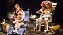 Lisa Horner, left, and Nicole Lipman star in Grey Gardens, a musical based on the 1975 documentary of the same name. (Racheal McCaig Photography)
