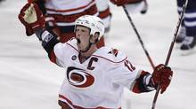 Carolina Hurricanes' captain Eric Staal (The Canadian Press)