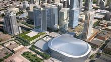 An illustration of the Edmonton Arena District. (EAD JV INC.)