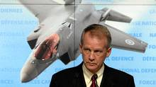 Dan Ross Deputy Minister of Defence holds news conference on the acquisition of the F-35 Joint Strike Fighter, in Ottawa, Thursday March 17, 2011. (Fred Chartrand/The Canadian Press/Fred Chartrand/The Canadian Press)