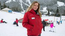 Allana Williams, energy manager and environmental coordinator at Whistler Blackcomb (DARRYL DYCK/THE GLOBE AND MAIL)