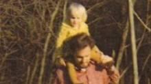 Tabatha Southey with her father.