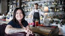 Nicole Fewell, creator and owner of Porter's Tonic, a home-made syrup for cocktails, at the bar at Proof in Calgary on August 04, 2016. (Chris Bolin For The Globe and Mail)