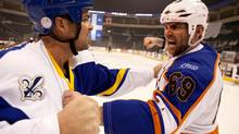 Seann William Scott are shown in a scene from Goon. Goon has scored Telefilm's Golden Box Office prize for topping the box office in 2012.