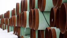 C-Suite's survey finds varying opinion on Keystone XL's positive impact. (Terray Sylvest/Reute)