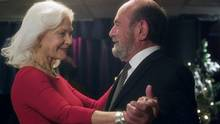 Katherine Mitchell is played gracefully by Linda Thorson (of Sweet Liberty and The Avengers fame). Opposite her is Isaac Shapiro (a charismatic turn from the great character actor Stuart Margolin). He's a grouchy retired tailor who fixes Mitchell's hem and, eventually, much more. (© 2016 The Second Time Around)