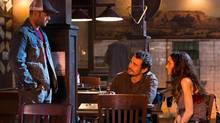 Jason Statham, James Franco and Winona Ryder in Homefront. (Justin Lubin)