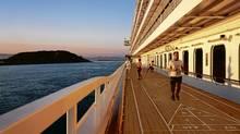 Crystal Serenity cruise ship. (Johansen Krause/Johansen Krause)