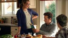 Naomi Snieckus and Matt Baram in an ad for Kraft Italiano cheese. (Kraft Canada)