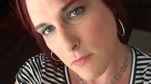 This July 2014 selfie image shows a transgender woman Kylie Jack in Austin, Texas, who was denied personal service at a lingerie shop known for one-on-one fittings. The 39-year-old computer interaction designer left empty-handed and angry after being asked if she was an anatomical female. She took to social media to protest. (Kylie Jack/AP Photo)