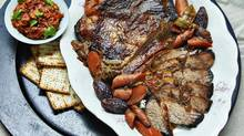 The Passover brisket includes dates, which will give the sauce a naturally sweet taste without being sugary. (Danielle Matar/The Globe and Mail)