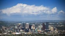 The city of Calgary June 4, 2014 almost a year after the city was badly flooded. (John Lehmann/The Globe and Mail)