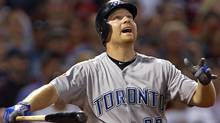 Toronto Blue Jays' cleanup hitter Adam Lind. FILE PHOTO: REUTERS/Adam Hunger (Adam Hunger/Reuters)