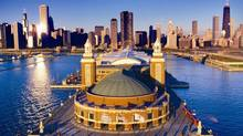 Navy Pier and the Chicago skyline. © City of Chicago / GRC (© City of Chicago/GRC)