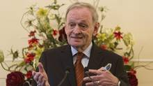 Former prime minister Jean Chretien warned a British audience to take the threat of Scottish separatism seriously in a speech May 15. (Andrew Wiard/reportphotos.com)