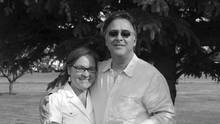 Fred Turbide seen with his wife, Maria Chaves-Turbide. Mr. Turbide died of suicide, shooting himself after losing almost $330,000 to a binary-option scam. (handouts)