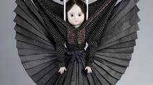 A doll from the Victor & Rolf collection appearing at Luminato. (© Photo Peter Stigter)