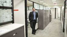 Ryerson University grad Tyler Baird parlayed a victory in the national Enactus competition in 2013 into a job with Scotiabank as a small-business adviser at a branch in east-end Toronto. (Chris Young for The Globe and Mail)
