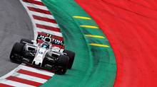 Lance Stroll of Canada driving the (18) Williams Martini Racing Williams FW40 Mercedes on track during practice for the Formula One Grand Prix of Austria at Red Bull Ring on July 7, 2017 in Spielberg, Austria. (Mark Thompson/Getty Images)