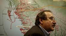 Art Sterrit, Executive Director of the Coastal First Nation, at their Vancouver office on March 25th, 2010 (Simon Hayter/for the Globe and Mail)