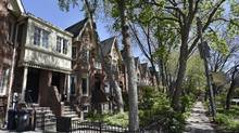 Homes in downtown Toronto. Canada's housing outlook is more uncertain today than it has been since the financial crisis in 2008-09. (Fred Lum/The Globe and Mail)
