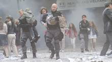The finale of Flashpoint is a two-part episode about Toronto menaced by a sadistic bomber.
