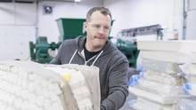 What's the best way to keep used mattresses out of a landfill? Calgary resident Shawn Cable had an epiphany and started a recycling company. (Chris Bolin For The Globe and Mail)