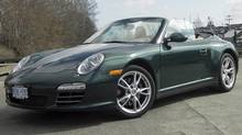 2009 Porsche (11 Carrera 4 Cabriolet (Ted Laturnus for The Globe and Mail)