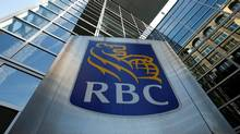 A Royal Bank of Canada sign is seen outside of a branch in Ottawa. (Reuters/Chris Wattie)
