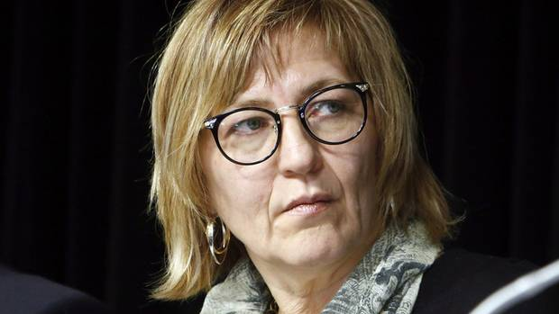 Marilyn Poitras, one of the commissioners of the National Inquiry into Missing and Murdered Indigenous Women and Girls, has resigned. (Fred Chartrand/THE CANADIAN PRESS)