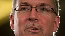 B.C. NDP Leader John Horgan, pictured in 2014, says the Liberal government used 'made-up' enrolment targets to delay seismic upgrades in the province's schools (DARRYL DYCK for The Globe and Mail)