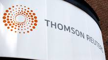 Thomson Reuters cutting 22 web jobs in Toronto: union (Eric J. Shelton/AP)