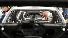 Toyota has a plant in Cambridge, Ont., that assembles Lexus vehicles. (Kevin Van Paassen/The Globe and Mail)