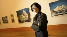 Heather Conway is pictured here in the Art Gallery of Ontario, where she was appointed chief business office two years ago. (Kevin Van Paassen/The Globe and Mail)