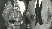 As head of variety programming at CBC, Jack MacAndrew, left, worked with many Canadian entertainers, including musician Oscar Peterson, while producing the broadcaster's 'Superspecials.'