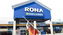 After management and the Quebec government signalled that the underperforming hardware retailer would not be sold to willing bidder Lowe's Cos. Inc., one of the largest shareholders, Invesco Canada, launched a bid to remove Rona's board. (Nathan Denette/THE CANADIAN PRESS)