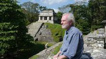AW series host/writer Brian Paisley at Mayan ruins of Palenque