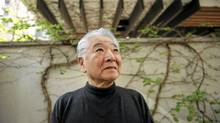 A portrait of Raymond Moriyama, photographed at his architectural firm Moriyama and Teshima in 2010. (Fred Lum/The Globe and Mail)