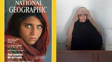 Immortalized on a celebrated National Geographic magazine cover as a green-eyed 12-year-old girl, Sharbat Gula was arrested October 26 for living in Pakistan on fraudulent identity papers. On November 4, a Pakistani judge ordered Gula's deportation after she was found guilty of obtaining an illegal Pakistani identity card. (AFP PHOTO / FIA photo)